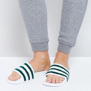 adidas Originals Adilette Chenille Slide Sandal